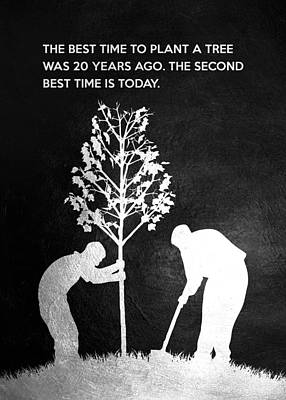 Rusty Trucks - The best time to plant a tree was 20 years ago. The second best time is today. Chinese Proverb by AB Concepts