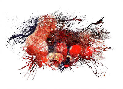 Sports Royalty-Free and Rights-Managed Images - The Boxers by All Sport Art