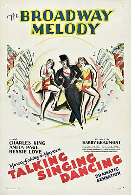 Royalty-Free and Rights-Managed Images - The Broadway Melody, 1929 by Stars on Art