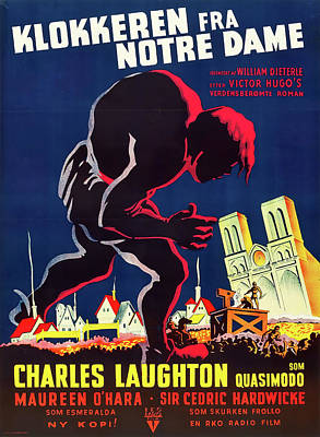 Royalty-Free and Rights-Managed Images - The Hunchback of Notre Dame, 1939 by Stars on Art