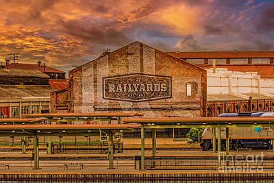 Parks - The Railyards  Of Sacramento by Mitch Shindelbower