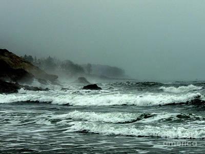 Zen Garden - Tidal Mist 2 by Maurice Hebert