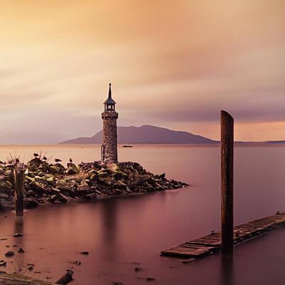 Photograph - Tiny Lighthouse by Tony Locke
