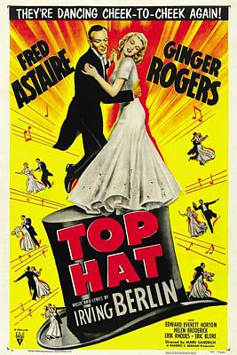 Royalty-Free and Rights-Managed Images - Top Hat, 1935 - d by Stars on Art