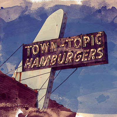 Photograph - Town Topic No. 2 by Bud Simpson