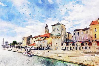 Painting - Trogir by Dreamframer Art