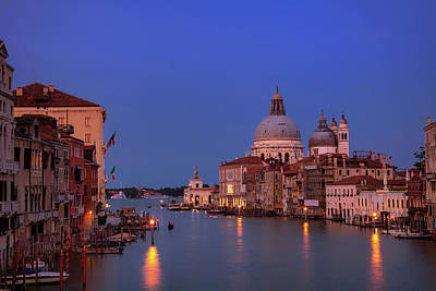 Royalty-Free and Rights-Managed Images - Venice Evening by Andrew Soundarajan