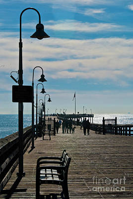 Old Masters - Ventura Pier  by Julieanne Case