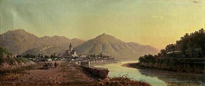 Spot Of Tea Royalty Free Images - VERESCHAGIN PETR 1834 1886 View of Mtskheta Royalty-Free Image by Artistic Rifki