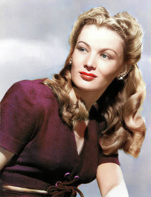 Royalty-Free and Rights-Managed Images - Veronica Lake by Stars on Art