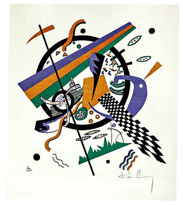 Classic Christmas Movies Royalty Free Images - Wassily Kandinsky 1866 1944 Small Worlds Roethel 164 75 1 Royalty-Free Image by Artistic Rifki