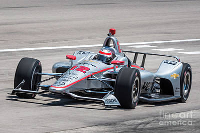 Sports Royalty-Free and Rights-Managed Images - Will Power #12 by Paul Quinn