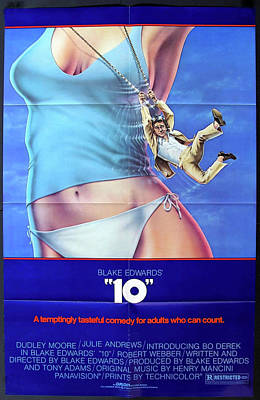 Royalty-Free and Rights-Managed Images - 10 - movie poster 1979 - Bo Derek and Dudley Moore by Stars on Art