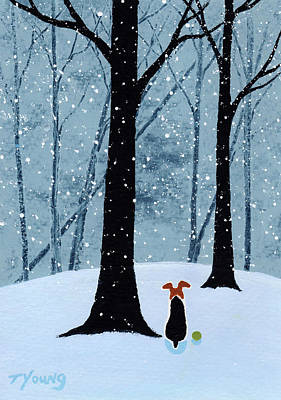 From The Kitchen - Falling Snow by Todd Young