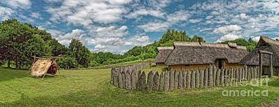Lady Bug - Iron age settlement living museum near Vingsted Vejle, Denmark by Frank Bach