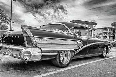Monochrome Landscapes - 1958 Buick Super Riviera Hardtop Coupe by Gestalt Imagery