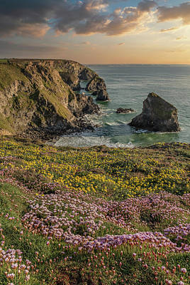 Firefighter Patents Royalty Free Images - Beautiful landscape image during Spring golden hour on Cornwall  Royalty-Free Image by Matthew Gibson