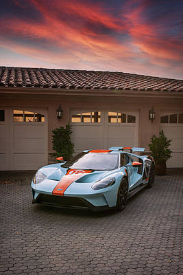 Photograph - #Ford #GT #Print by ItzKirb Photography
