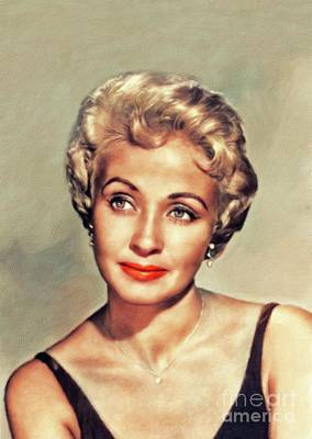 Guns Arms And Weapons - Jane Powell, Vintage Actress by Esoterica Art Agency