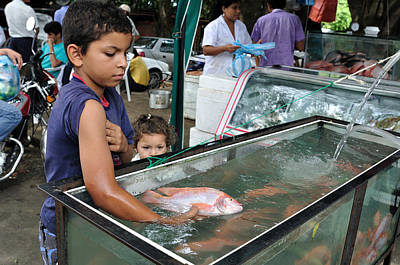 Caravaggio - Market in Rivera - Colombia by Carlos Mora