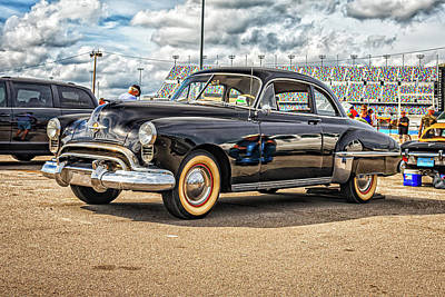 Photograph - 1949 Oldsmobile Rocket 88 Coupe by Gestalt Imagery