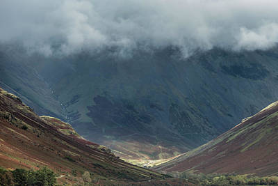 Watercolor Alphabet Rights Managed Images - Beautiful late Summer landscape image of Wasdale Valley in Lake  Royalty-Free Image by Matthew Gibson