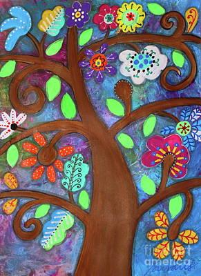Music Figurative Potraits - Tree of Life by Pristine Cartera Turkus