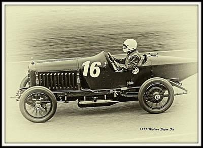 Beers On Tap - Vintage Race Car Set by John Richardson