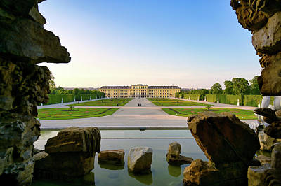Travel Rights Managed Images - Schonbrunn Palace in Vienna, Austria Royalty-Free Image by James Byard