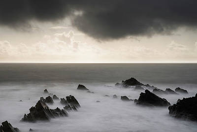 Truck Art Rights Managed Images - Stunning fine art landscape image of view from Hartland Quay in  Royalty-Free Image by Matthew Gibson