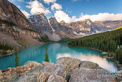 Fruits And Vegetables Still Life - 1606 Moraine Lake by Steve Sturgill