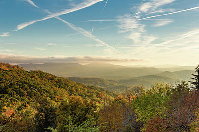 Clouds Rights Managed Images - Blue Ridge Mountains Royalty-Free Image by Bryan Pollard