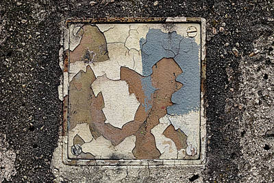 Parks - Cracked and Peeling Paint by Robert Ullmann