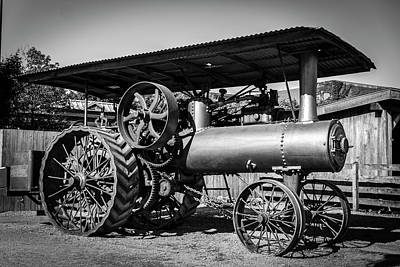 Photograph - 1916 Port Huron Steam Traction Engine  by Michael Osinski