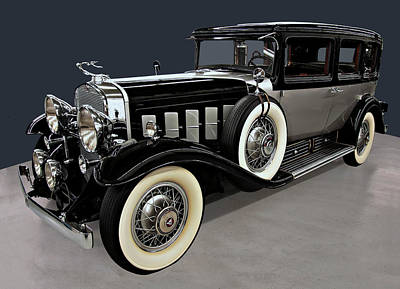 Book Quotes - 1930 Cadillac Imperial  by Chris Flees