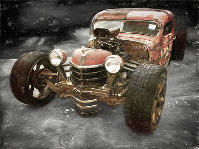 Photograph - 1946 Ratrod by Phyllis Stokes
