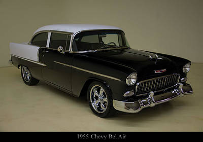 Mannequin Dresses - 1955 Chevy Bel Air Black by Christopher Flees