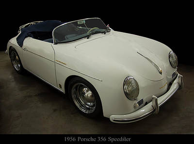 On Trend At The Pool - 1956 Porsche 356 speedster by Chris Flees