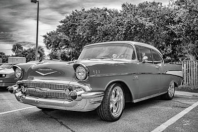 Polaroid Camera - 1957 Chevrolet BelAir Hardtop Coupe by Gestalt Imagery