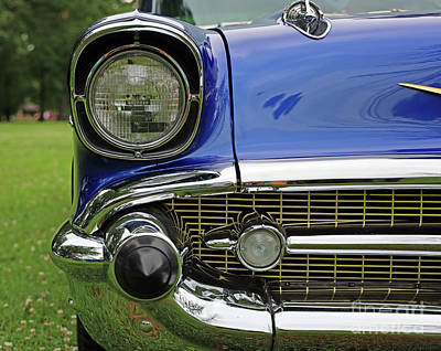 Pittsburgh According To Ron Magnes - 1957 Chevrolet Headlight and Grille 1645 by Jack Schultz
