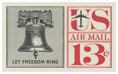 Royalty-Free and Rights-Managed Images - 1961 Let Freedom Ring Stamp by Greg Joens
