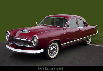 Anchor Down Royalty Free Images - 1954 Kaiser special Royalty-Free Image by Chris Flees