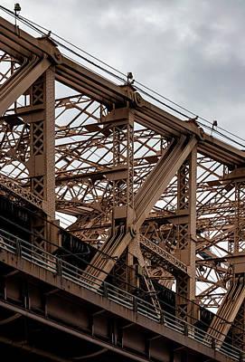Catch Of The Day - 59th Street Bridge Detail by Robert Ullmann