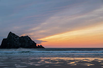 Pasta Al Dente - Absolutely stunning landscape images of Holywell Bay beach in Co by Matthew Gibson