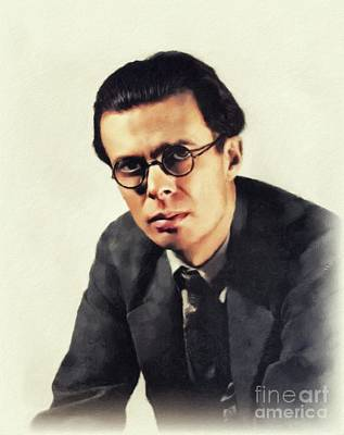 Pittsburgh According To Ron Magnes - Aldous Huxley, Literary Legend by John Springfield