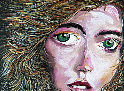 Painting - Ambyr by Doug LaRue