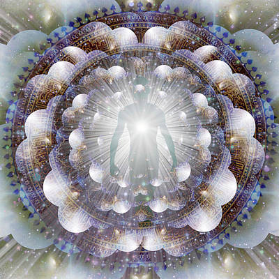 Surrealism Royalty-Free and Rights-Managed Images - Aura by Bruce Rolff