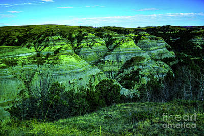 Holiday Pillows 2019 - Badlands panorama  by Jeff Swan