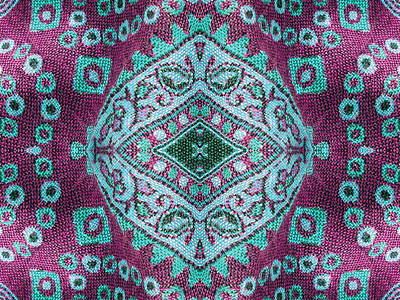 Curated Travel Chargers - Beautiful, arab, arabic, arabian, arabesque fabric background. paisley, oriental, geometric, carpet, baroque, indian, iranian, persian abstract design.  by Julien