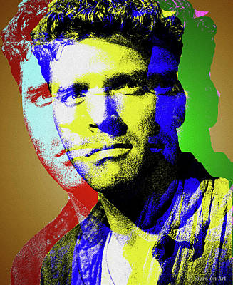 Royalty-Free and Rights-Managed Images - Burt Lancaster by Stars on Art